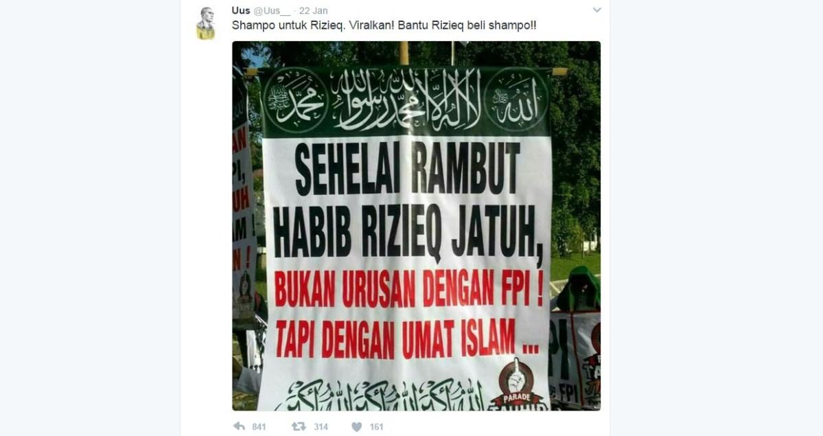 Berita Terbaru. Hina Habib Rizieq Shihab, Komedian Uus Dihujat Netizen